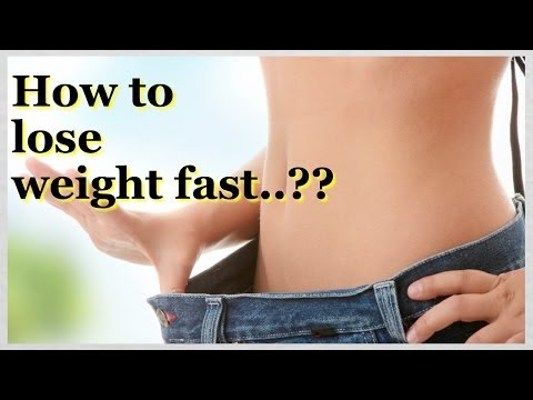 How to Lose Weight Fast | Drop 5 Pounds in a Week