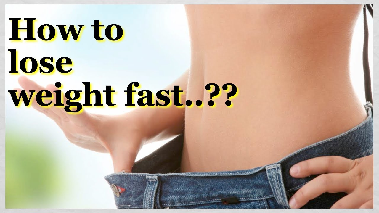 How to Lose Weight Fast | Drop 5 Pounds in a Week - YouTube