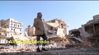 Siria: Alto Comisionado visita Alepo