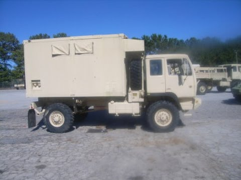 You are looking at a 1998 Stewart and Stevenson M-1079 Van on  GovLiquidation com