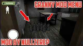 Granny New Mod Menu By Nullzerep V 1 4 0 1 2018 I Trying To