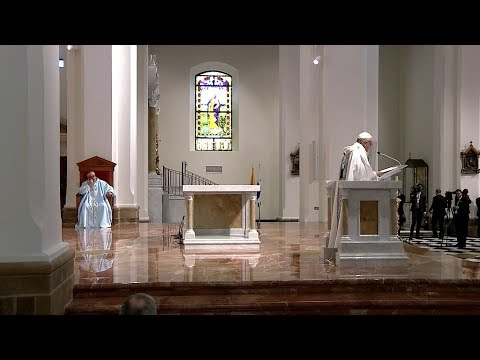 Pope Francis - Panama - Holy Mass with Religious 2019-01-26 videonews