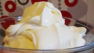 Как сделать сметану гуще? Густая сметана для крема! Легко и просто!