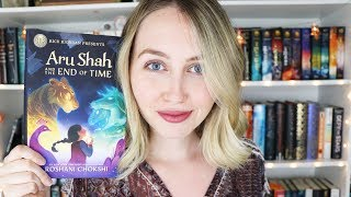 ARU SHAH AND THE END OF TIME BY ROSHANI CHOKSHI BOOKTALK