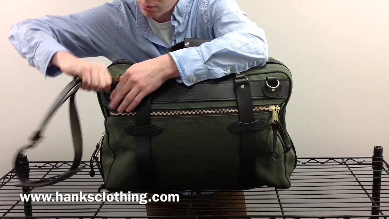 1eedf3544489 Filson Pullman Suitcase - Free 2 Day Shipping - YouTube