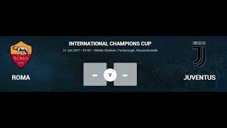 Prediksi Skor Roma vs Juventus 31 Juli 2017 -  INTERNATIONAL CHAMPIONS CUP