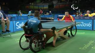 Baixar Table Tennis | POL x CHN | Men's Singles - Qualification Class 2 | Rio 2016 Paralympic Games