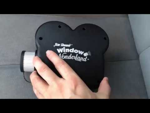 Star Shower Window Wonderland Holiday Projector Teardown Review Youtube