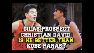 Gilas Prospect: 6'7 Fil-Canadian Christian David Highlights