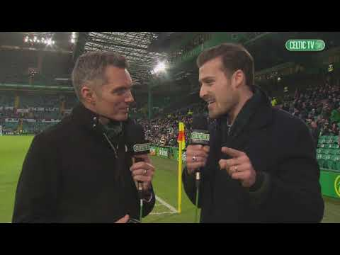 Celtic FC - Erik Sviatchenko back at Paradise for #CELDUN!