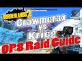 Borderlands 2 | Crawmerax vs Krieg | OP8 Raid Guide + Game Save