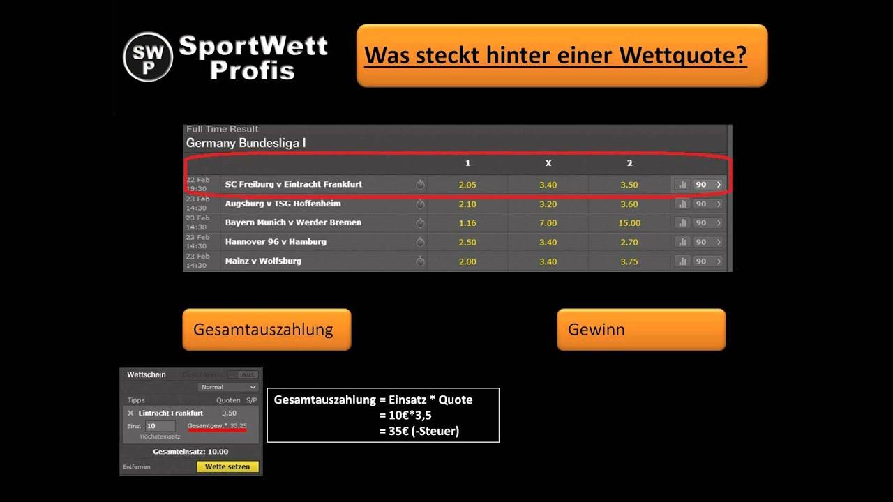 Wettquote