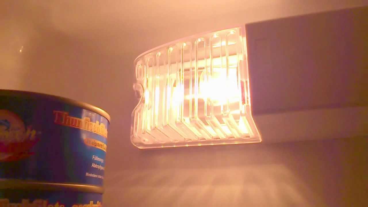 Kühlschrank Licht : Wer macht im kühlschrank das licht aus youtube
