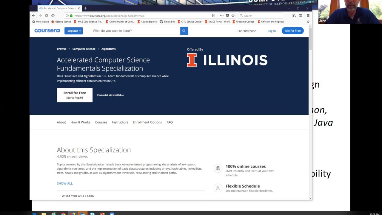University of Illinois Master of Computer Science (& MCS-DS) - a top-ranked  degree