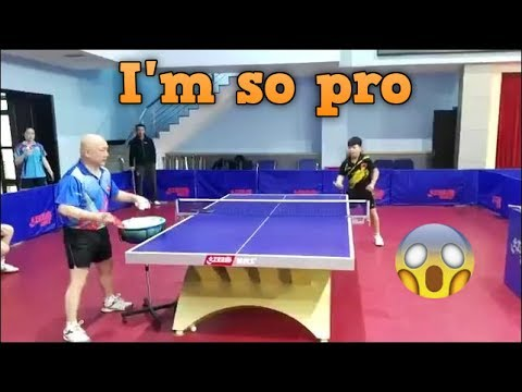 Download I'm so pro in table tennis? Pics