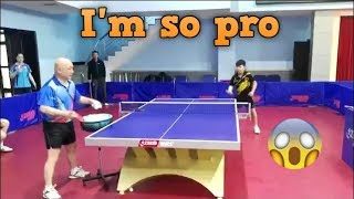 I'm so pro in table tennis?