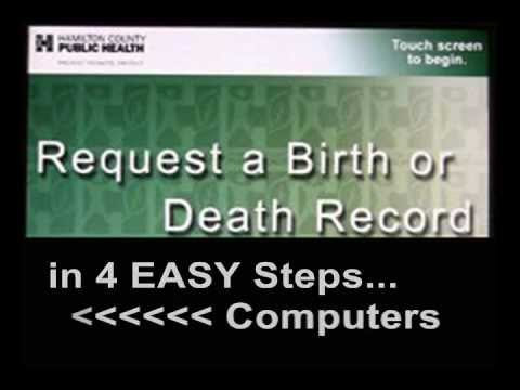 How to amend a birth certificate in ohio
