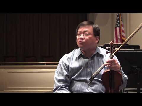 Chamber Music with Michael Shih