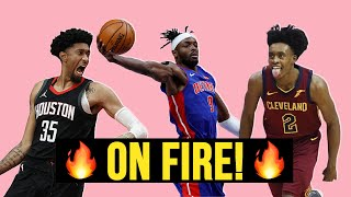 ON FIRE! 🔥 5 NBA Players That Are TAKING OVER