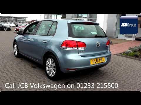 2012 Volkswagen Golf Match 1.4l Georgia Blue Metallic Metallic GL61PNJ for sale at JCB VW Ashford