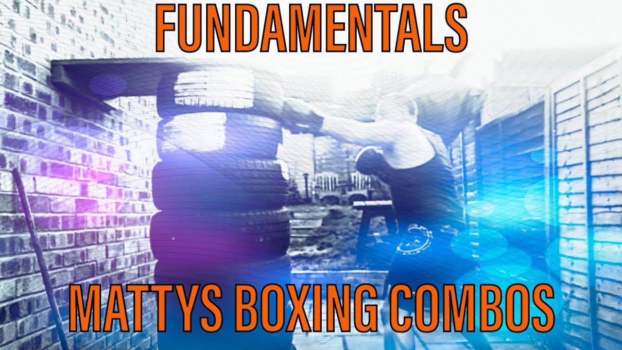 Mattys boxing combos