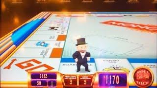 Epic Monopoly slot machine, Double Bonus or Bust