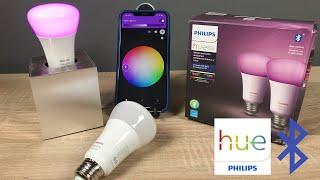 Philips Hue Bluetooth im Test (E26/E27)