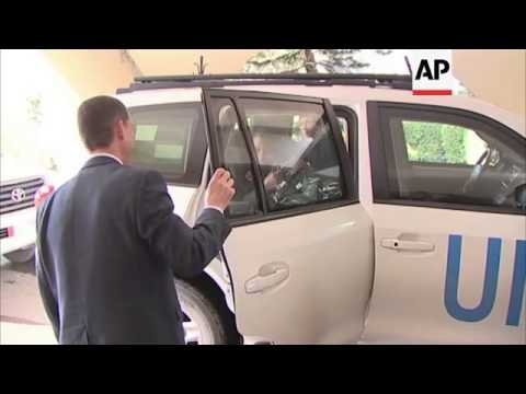 UN humanitarian chief Valerie Amos begins visit to Syria