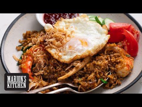 Left-overs Nasi Goreng - Marion's Kitchen