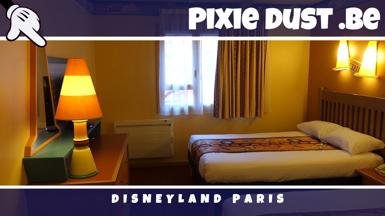 Camere Santa Fe Disneyland : Standard room disneys hotel santa fé at disneyland paris 2017 youtube