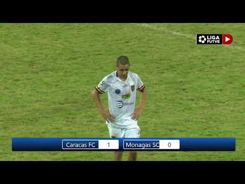 Liga FUTVE | Caracas FC vs. Monagas SC | Torneo 2020 - Grupo B
