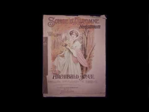Songe d'automne  - Archibald Joyce (Vintage sheet music)