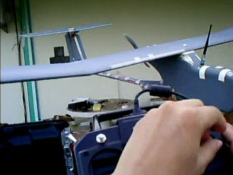 An Unmanned Aerial Vehicle (UAV) controlled by Skilligent software
