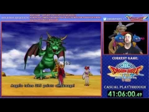 Dragon Quest 8 - Ultimate dragon with fisticuffs
