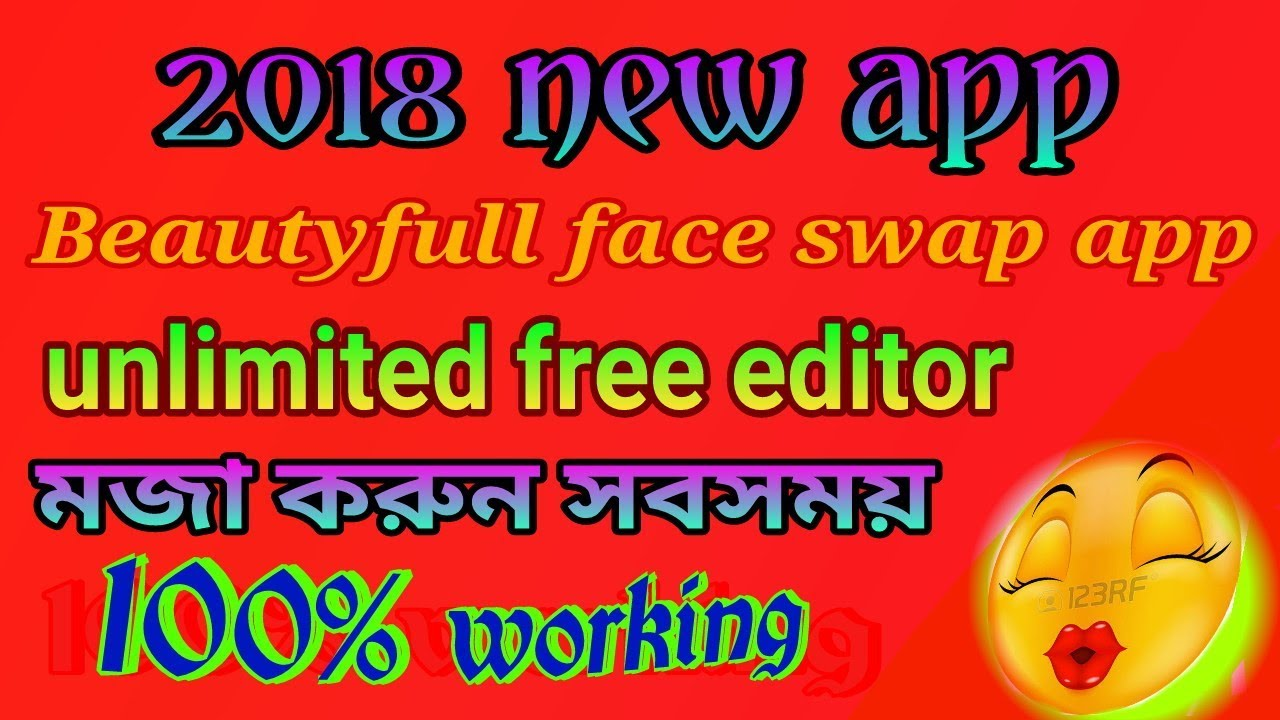 funny photo editor, best android app 2018, bangla tips