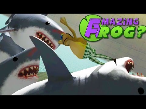 Amazing Frog - THE SHARK GAMES - Part 28