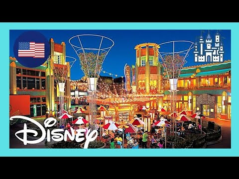 Visiting Downtown Disney (DISNEYLAND) in ANAHEIM (California), USA