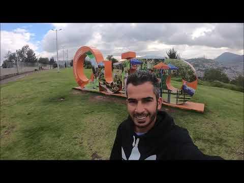 Quito,Ecuador: visiting old town,panicillo,itchimbia,la floresta,central market and el ejido park