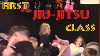 Girls First Jiu-Jitsu Class (BJJ)