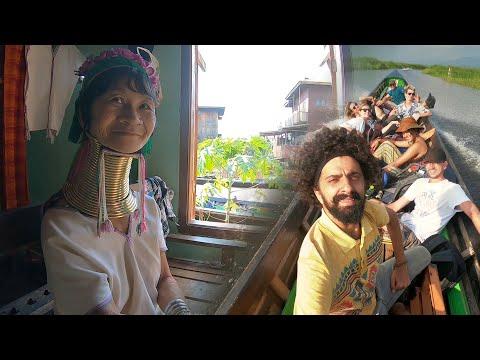 Su Üstünde Yaşayan İnsanların İLGİNÇ HAYATLARI - Myanmar İnla Lake/58