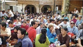 200 người thiếu may mắn nhận niềm vui bất ngờ tại chùa Hưng Quốc