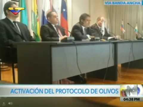TVES.- Venezuela activa Protocolo de Olivos para resolver controversia en Mercosur