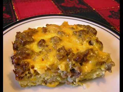 The BEST Breakfast Casserole EVER!!!!! I Promise!!!