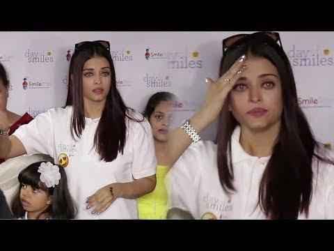 Emotional Aishwarya Rai Bachchan Crying in Public
