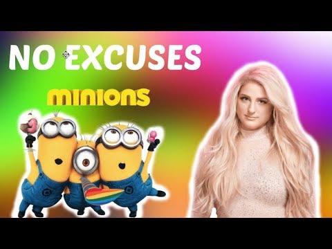 Meghan Trainor - No Excuses (Minions Version / Minions Movie) - (Full HD)