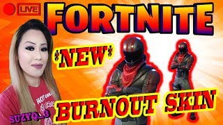 """""""NEW SKIN"""" """"BURNOUT"""" 450 VICTOIRES BRO et SIS DUO SAISON 3 : FORTNITE BATTLE ROYALE [PS4]"""