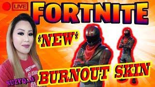 "*NEW SKIN* ""BURNOUT"" 450+ WINS | BRO + SIS DUO | SEASON 3 : FORTNITE BATTLE ROYALE [PS4]"