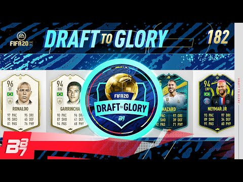 R9! UNBELIEVABLE BRAZILIAN ATTACK IN THIS DRAFT! | FIFA 20 DRAFT TO GLORY #182