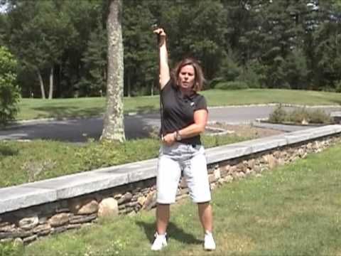 Golf Warm-ups and Stretches with Kathy Ekdahl