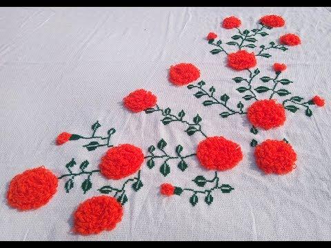 Marigold Flower Dusuti Bedseat Design.
